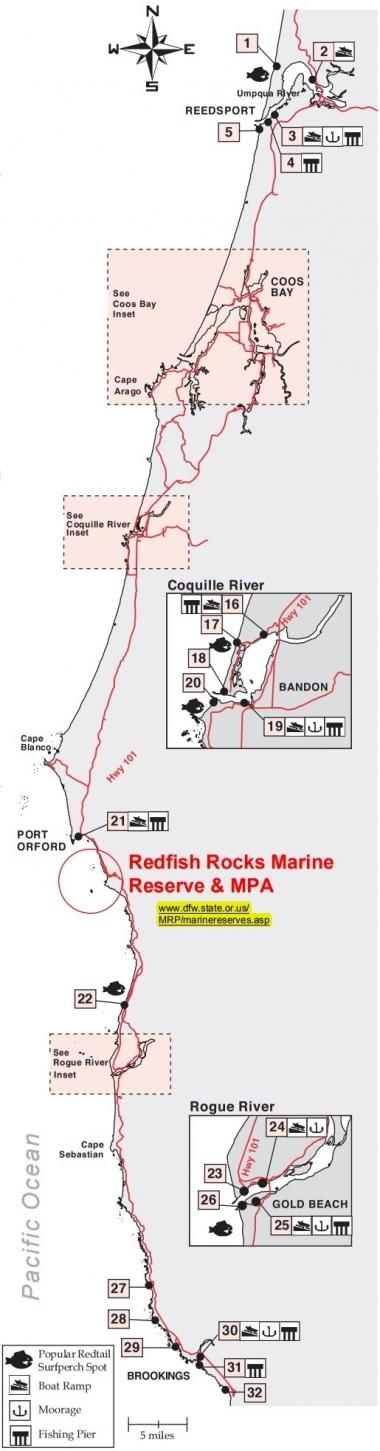 marine fishing on oregon 39 s south coast oregon department of fish wildlife. Black Bedroom Furniture Sets. Home Design Ideas