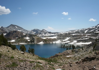 image of Prospect Lake in Eagle Cap Wilderness