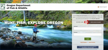 ODFW's electronic licensing system (ELS) | Oregon Department