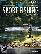 image of the 2020 fishing reg cover