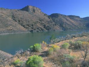 A photo of Prineville Reservoir