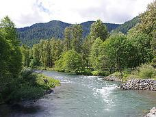 the middle fork of the Willamette River