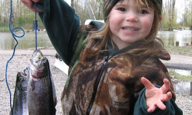 Free fishing at St. Louis Ponds