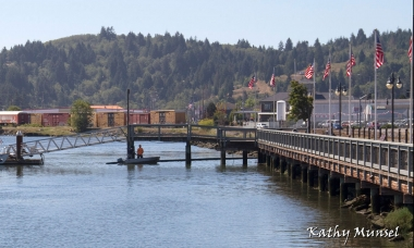 Coos Bay Boardwalk