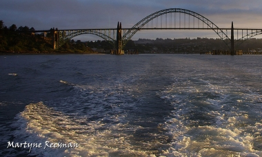 Yaquina sunrise