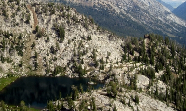 image of Hawk Lake in Wallowa Mountains